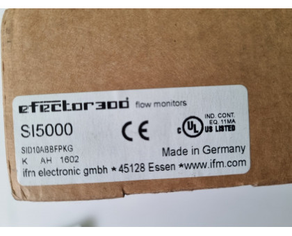 Датчик потоку IFM SI5000 SID10ABBFPKG/US-100