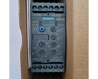 3RW4024-1BB14 плавный пуск 5,5 кВт устройство плавного пуска 12,5А Siemens