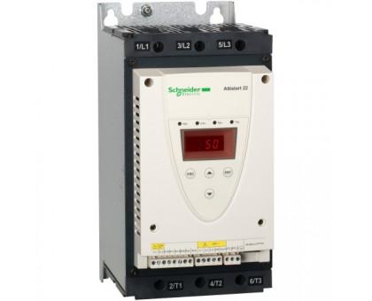 ATS22D62Q плавный пуск 30 кВт устройство плавного пуска 62А Schneider Electric