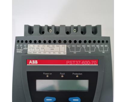 PST37-600-70 устройство плавного пуска 18,5 кВт плавный пуск 37А 1SFA894003R7000 ABB Б.У.